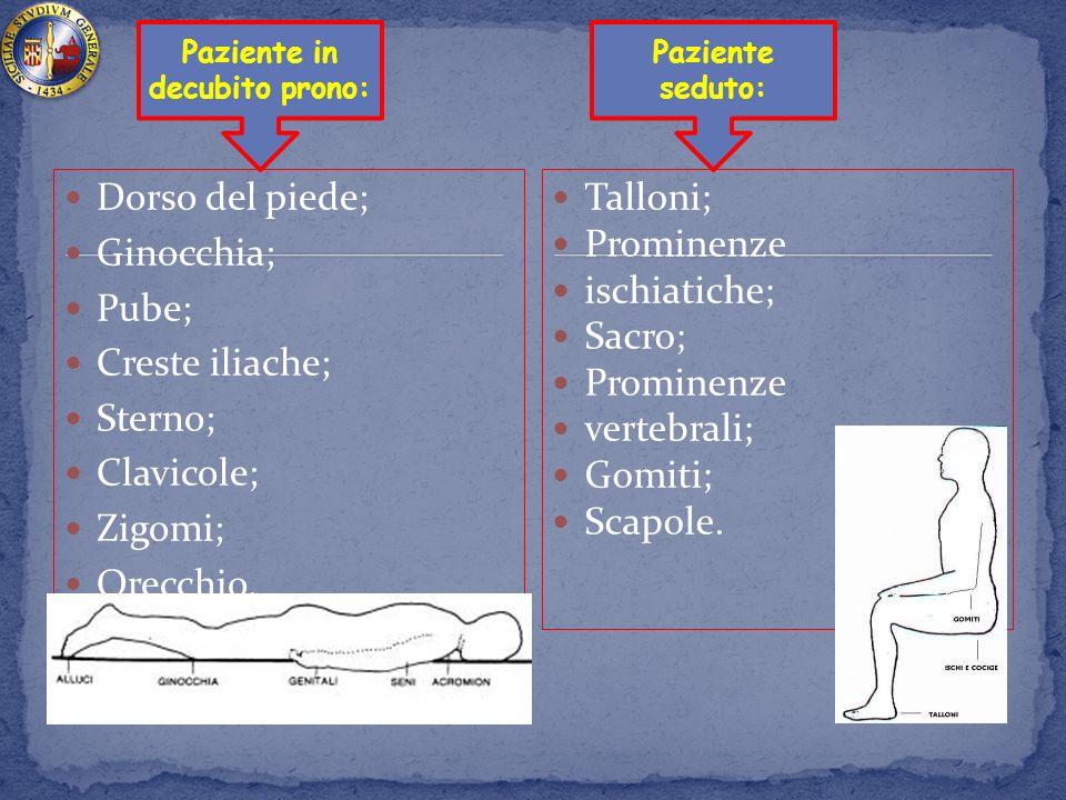 Paziente in decubito prono: