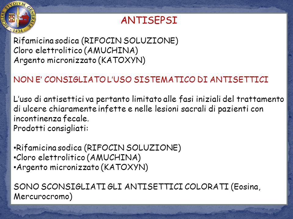 ANTISEPSI Rifamicina sodica (RIFOCIN SOLUZIONE)