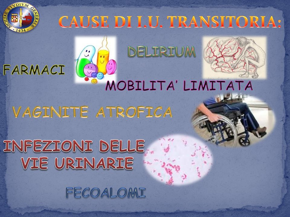 CAUSE DI I.U. TRANSITORIA: