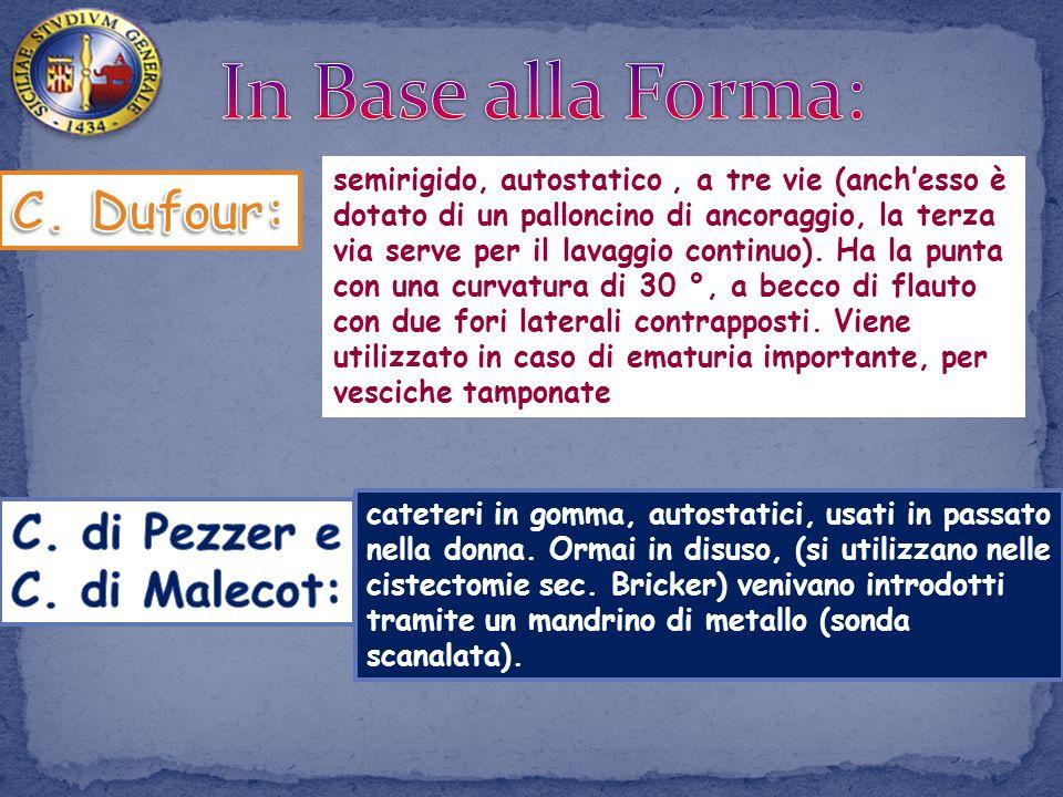 In Base alla Forma: C. Dufour: C. di Pezzer e C. di Malecot: