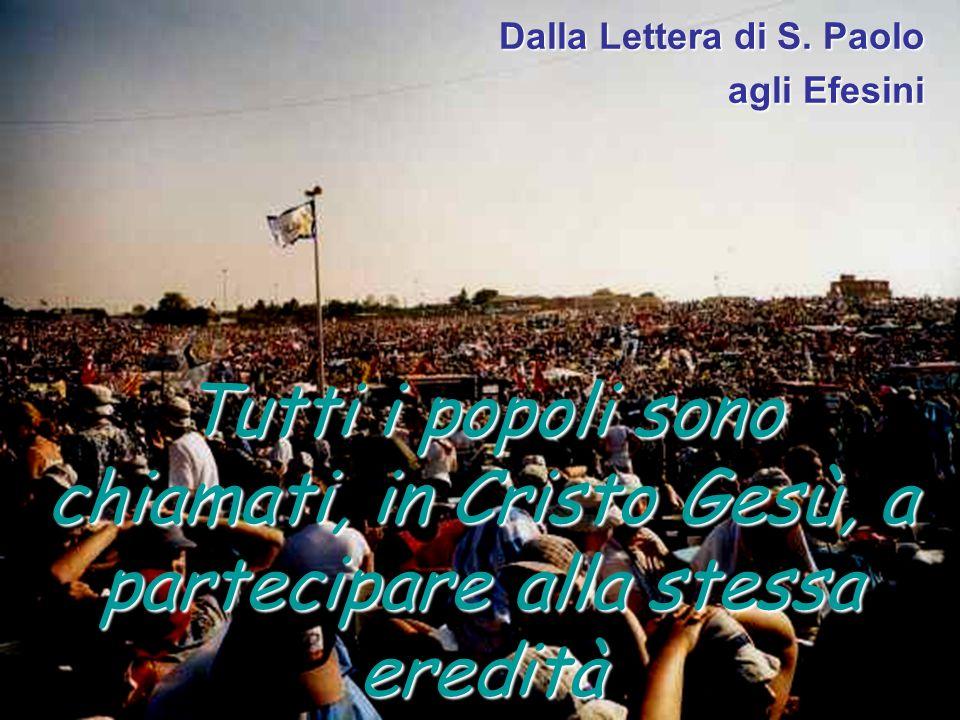 Dalla Lettera di S. Paolo