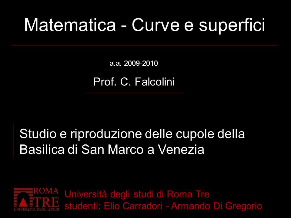 Matematica - Curve e superfici