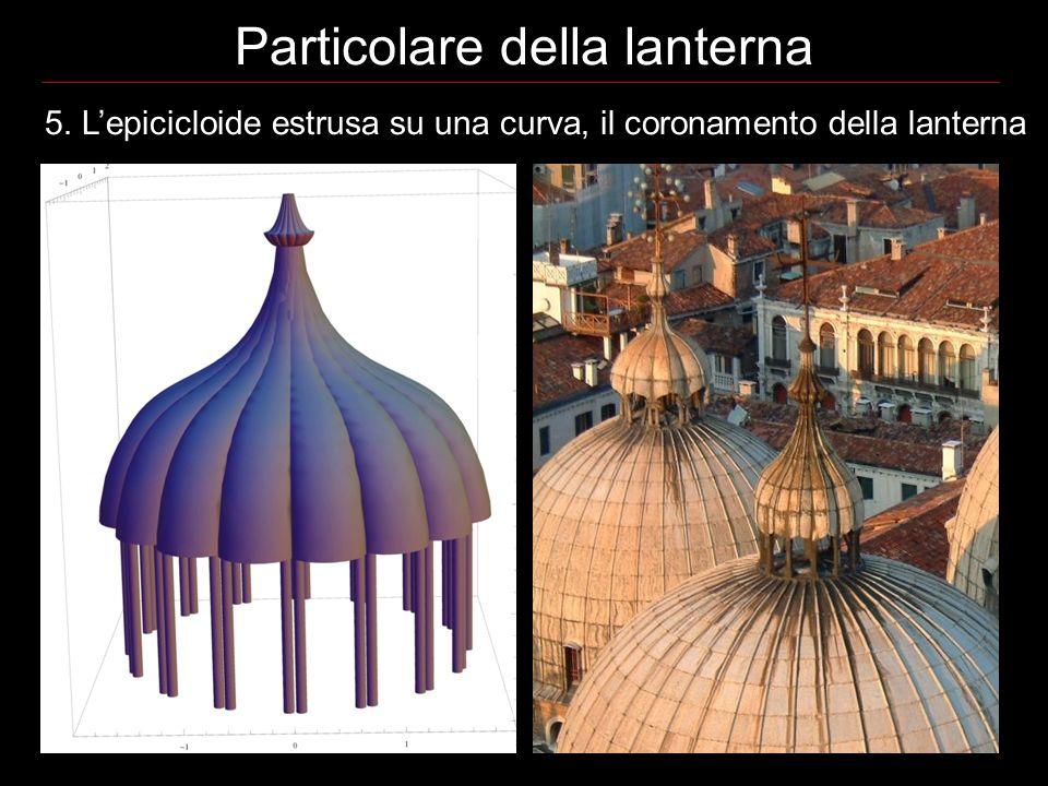 Particolare della lanterna