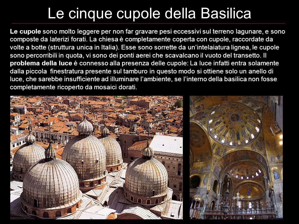 Le cinque cupole della Basilica