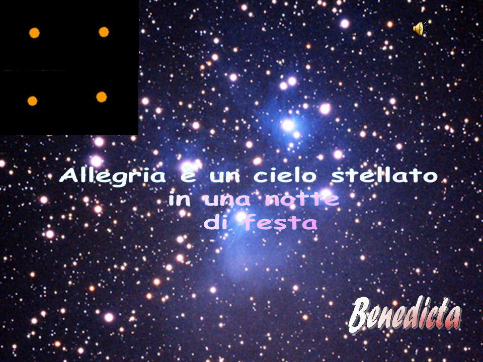 Allegria è un cielo stellato