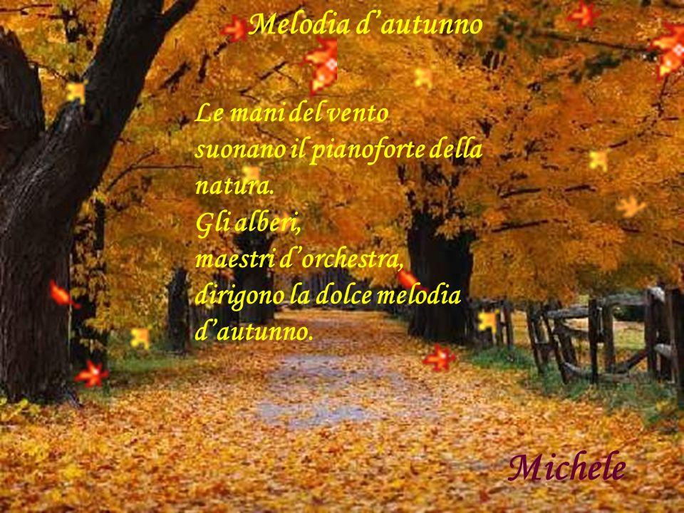 Michele Melodia d'autunno Le mani del vento