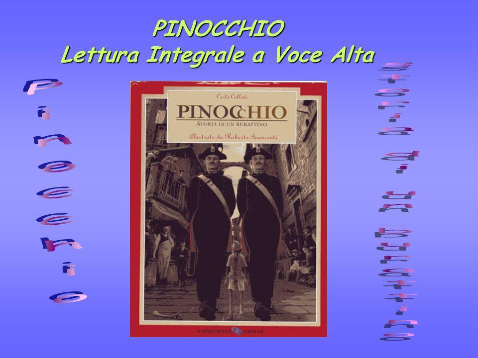 PINOCCHIO Lettura Integrale a Voce Alta