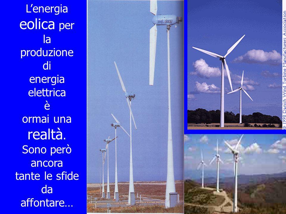L'energia eolica per la