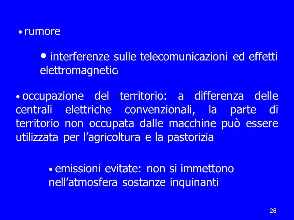 interferenze sulle telecomunicazioni ed effetti elettromagnetici