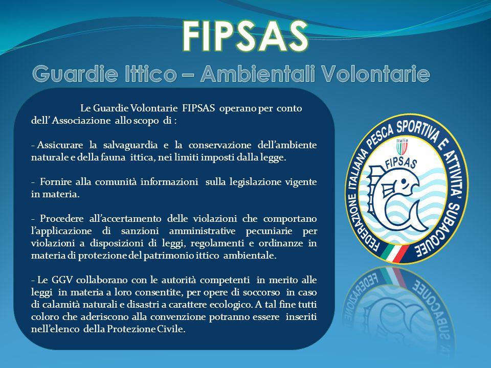 FIPSAS Guardie Ittico – Ambientali Volontarie