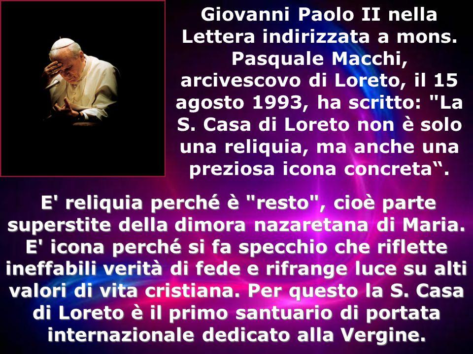 Giovanni Paolo II nella Lettera indirizzata a mons