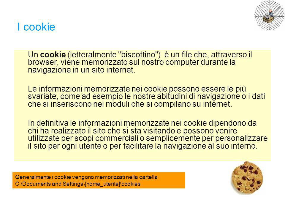 I cookie