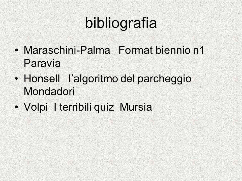 bibliografia Maraschini-Palma Format biennio n1 Paravia