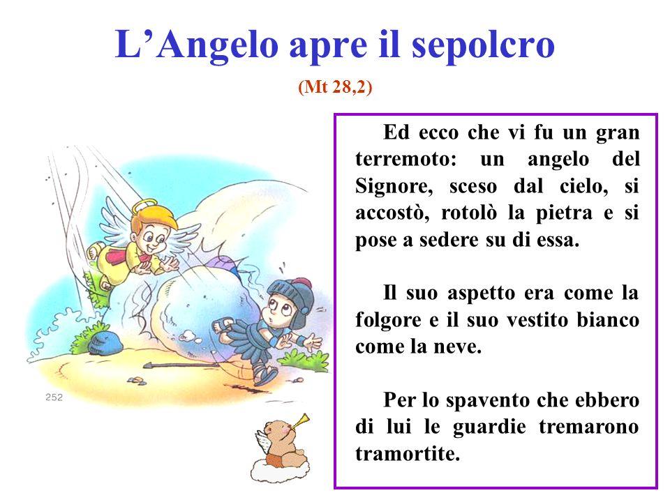 L'Angelo apre il sepolcro