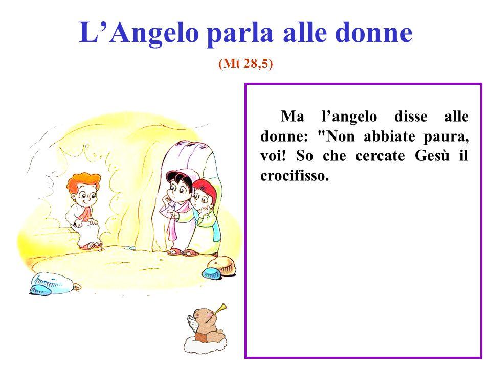 L'Angelo parla alle donne