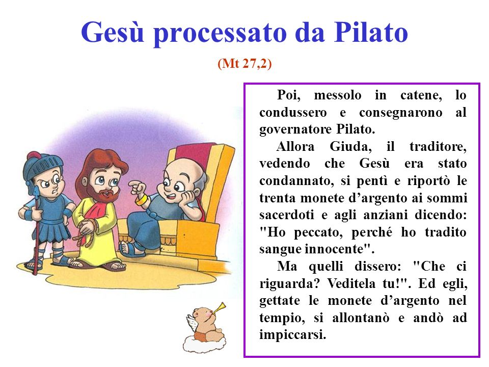 Gesù processato da Pilato