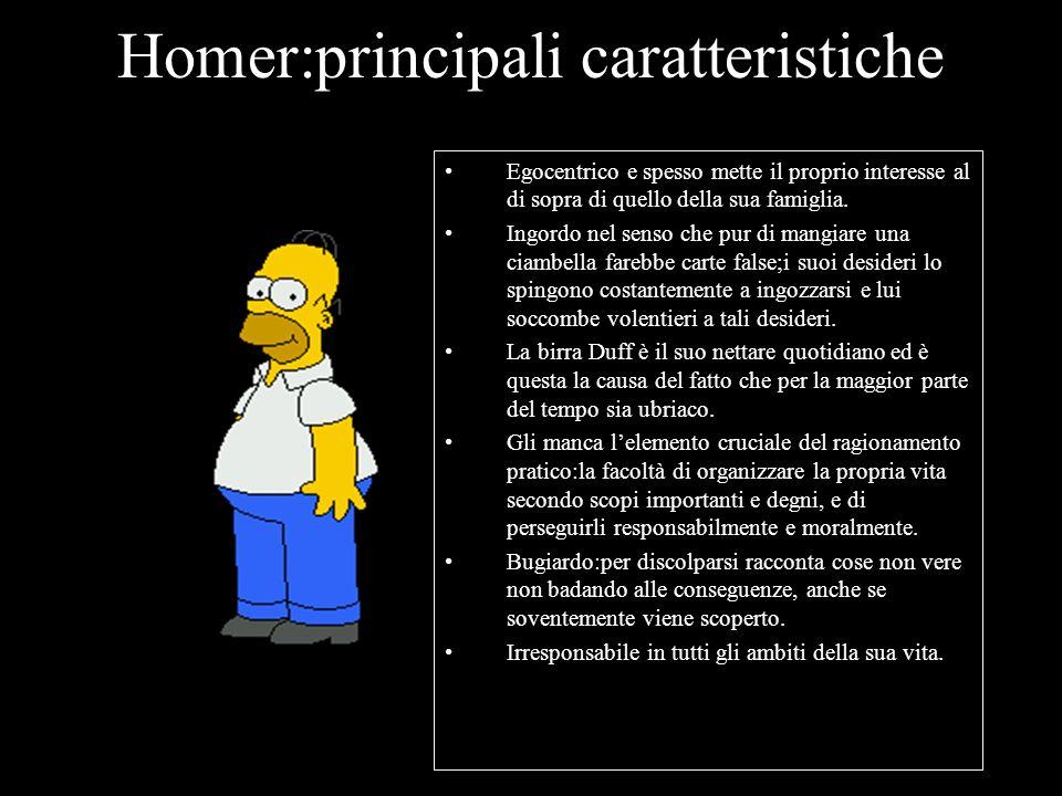 Homer:principali caratteristiche