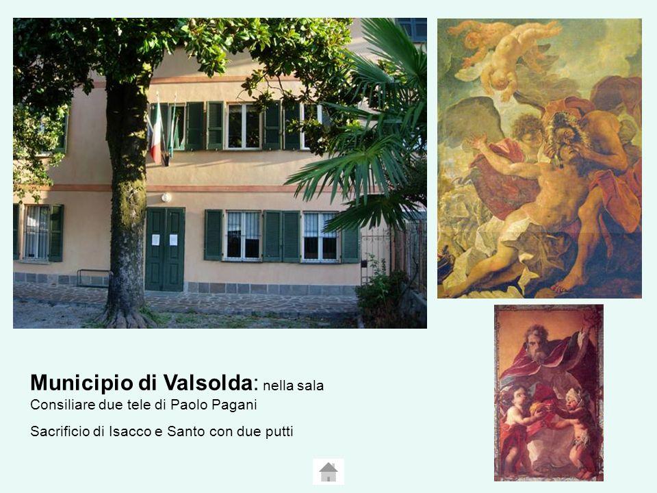 Municipio di Valsolda: nella sala Consiliare due tele di Paolo Pagani