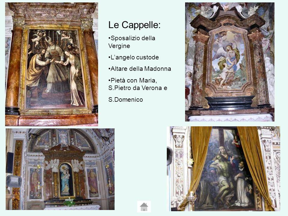 Le Cappelle: Sposalizio della Vergine L'angelo custode