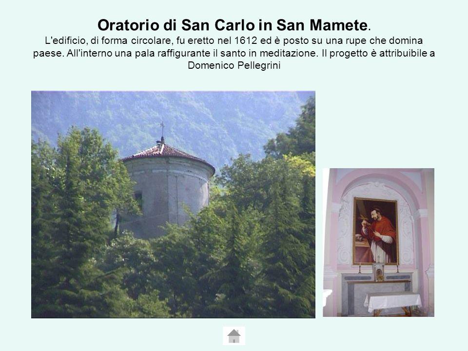Oratorio di San Carlo in San Mamete