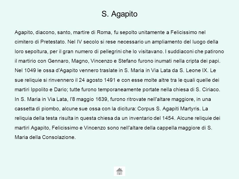 S. Agapito
