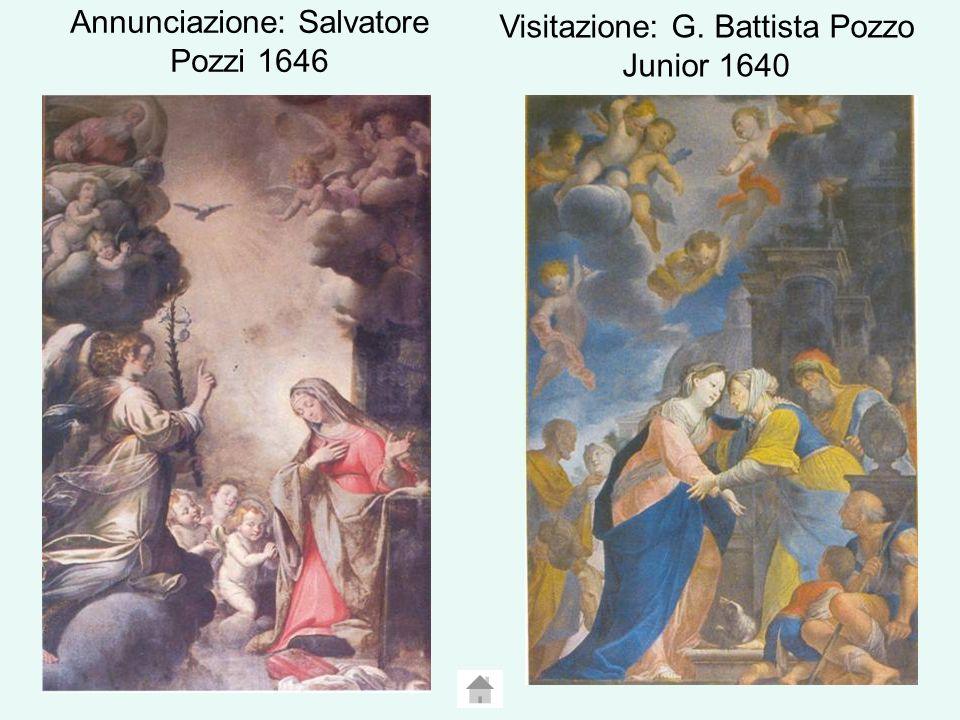 Annunciazione: Salvatore Pozzi 1646