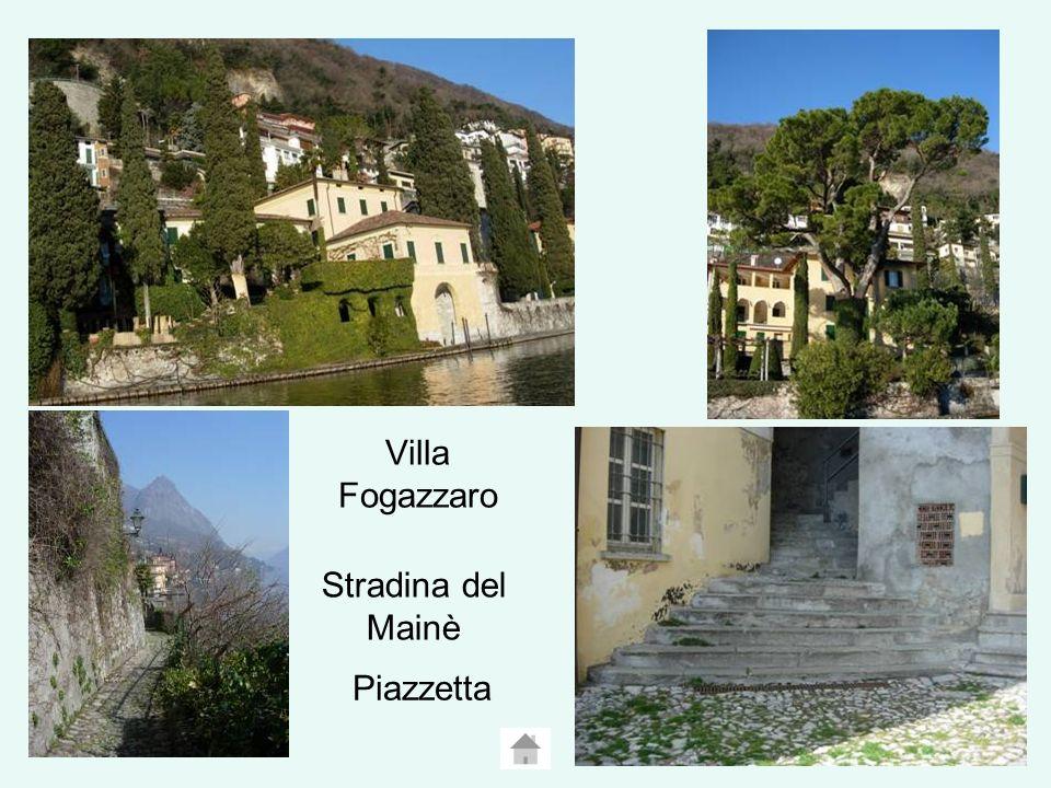 Villa Fogazzaro Stradina del Mainè Piazzetta