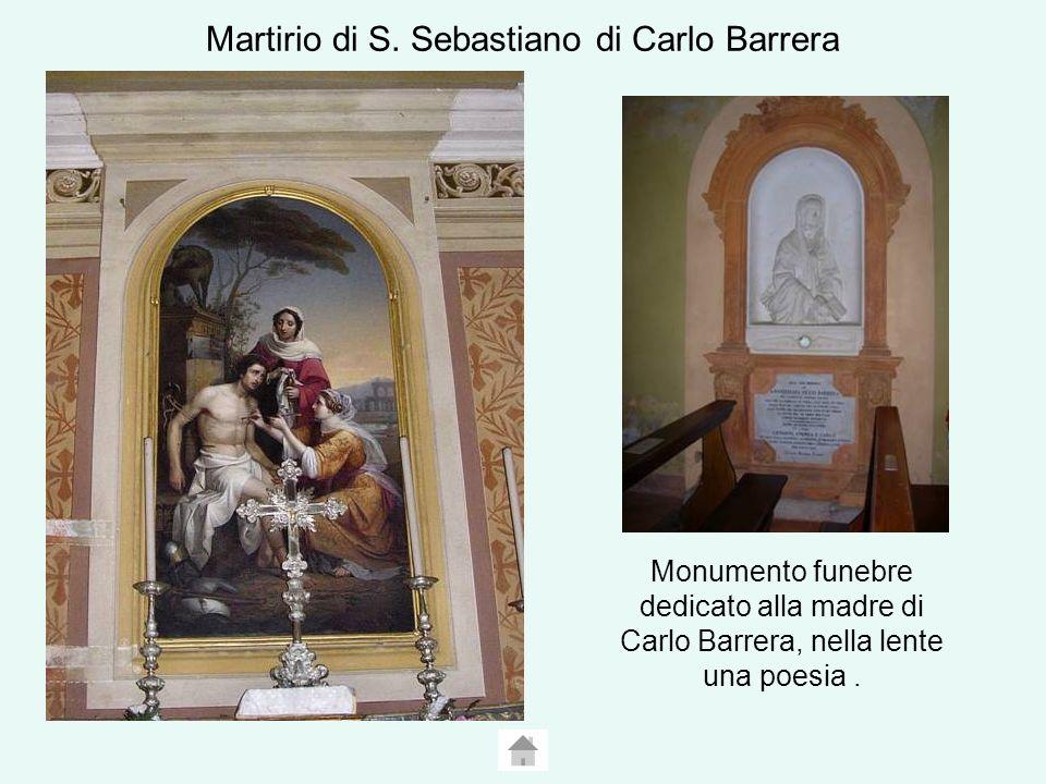 Martirio di S. Sebastiano di Carlo Barrera