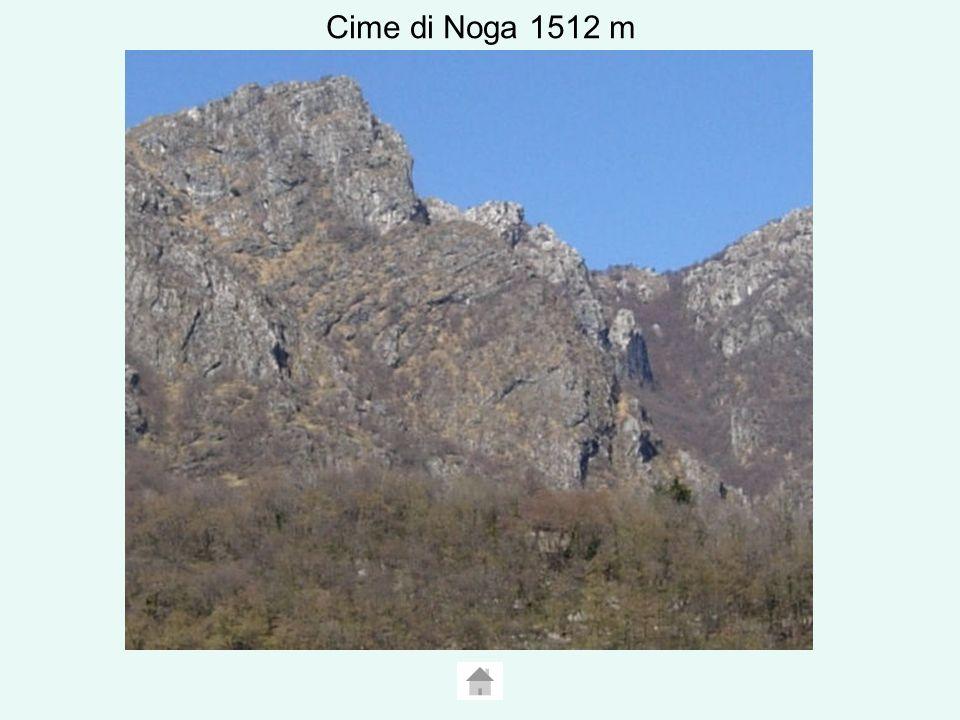 Cime di Noga 1512 m