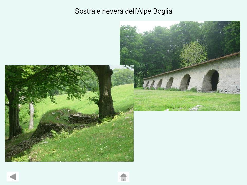 Sostra e nevera dell'Alpe Boglia