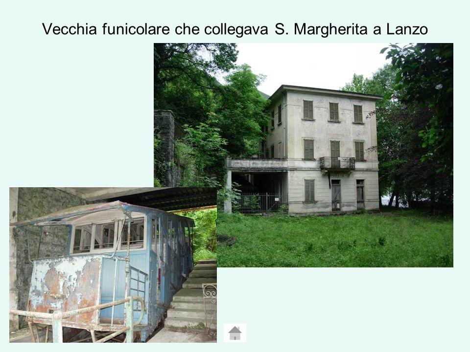 Vecchia funicolare che collegava S. Margherita a Lanzo