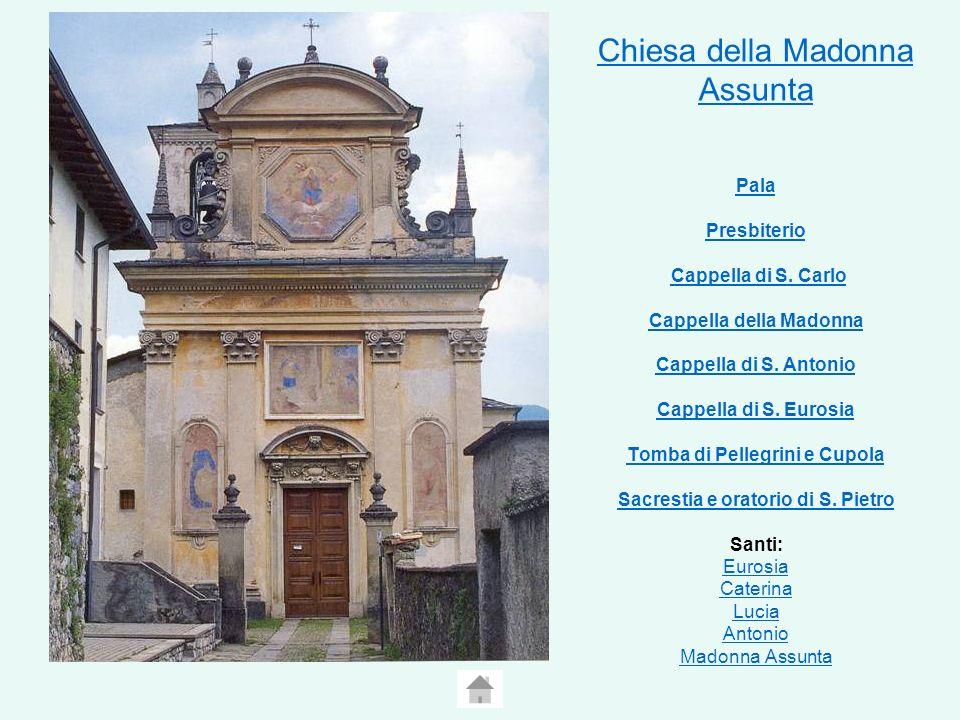 Chiesa della Madonna Assunta Pala Presbiterio Cappella di S
