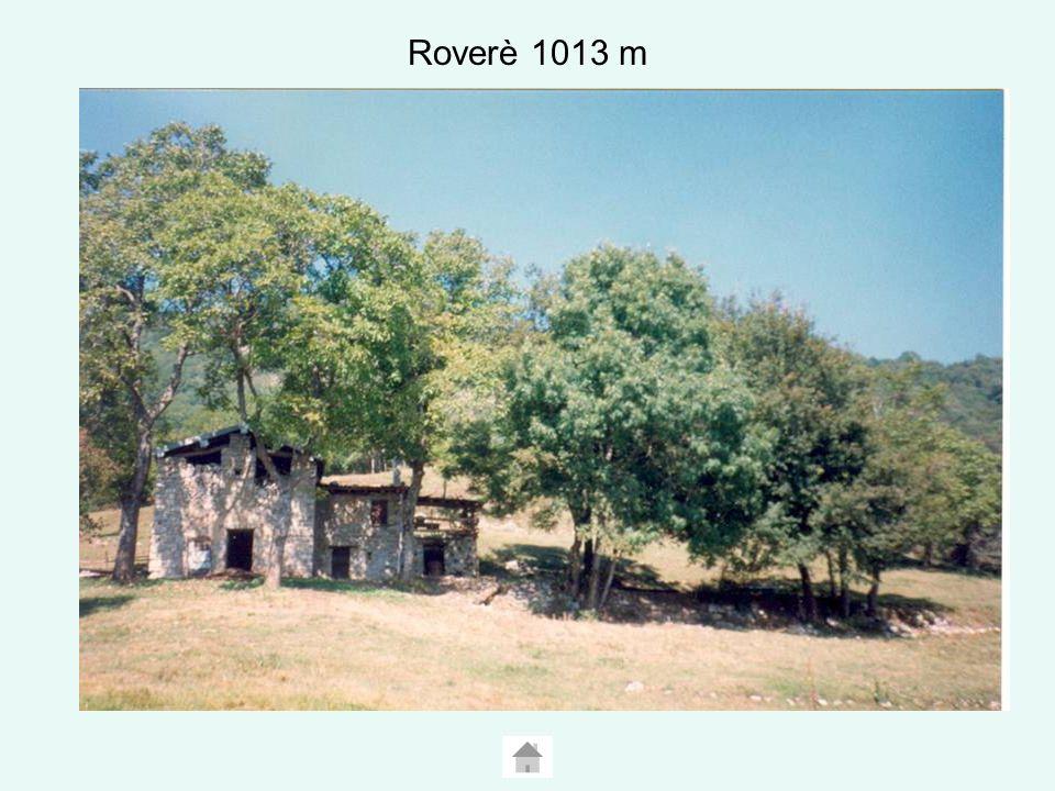 Roverè 1013 m