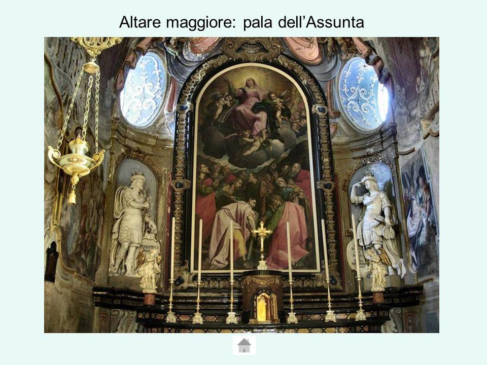 Altare maggiore: pala dell'Assunta
