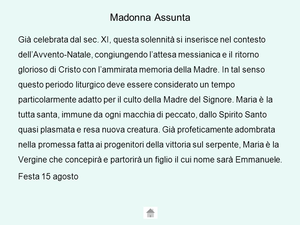 Madonna Assunta