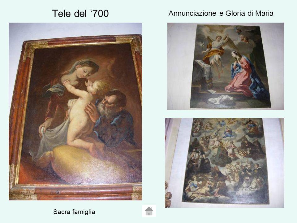 Annunciazione e Gloria di Maria