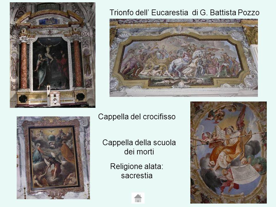 Trionfo dell' Eucarestia di G. Battista Pozzo