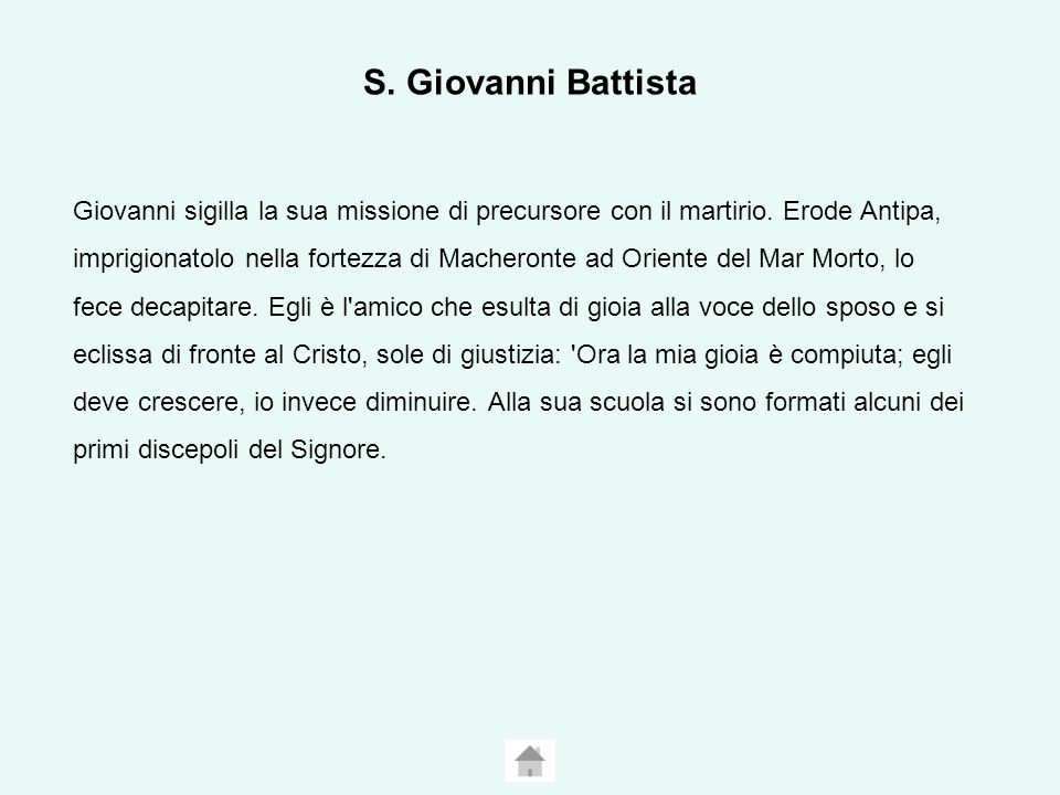 S. Giovanni Battista