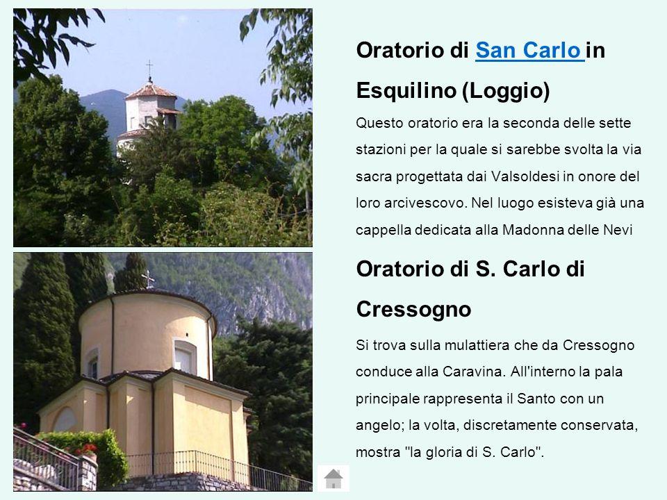 Oratorio di S. Carlo di Cressogno
