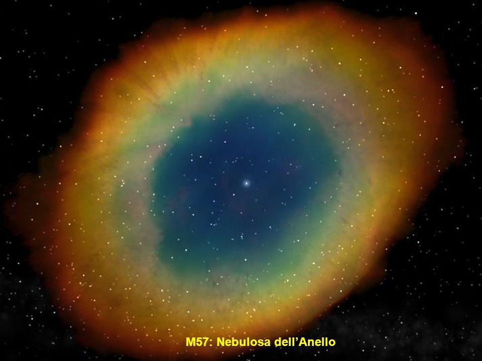 M57: Nebulosa dell'Anello