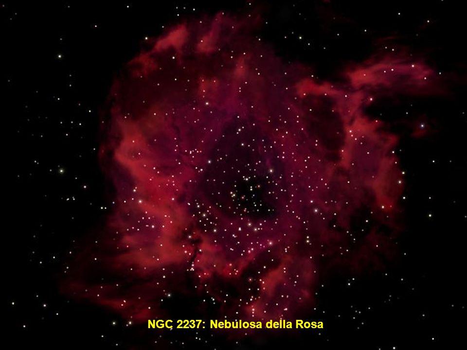 NGC 2237: Nebulosa della Rosa