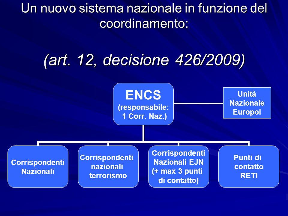 Un nuovo sistema nazionale in funzione del coordinamento: (art