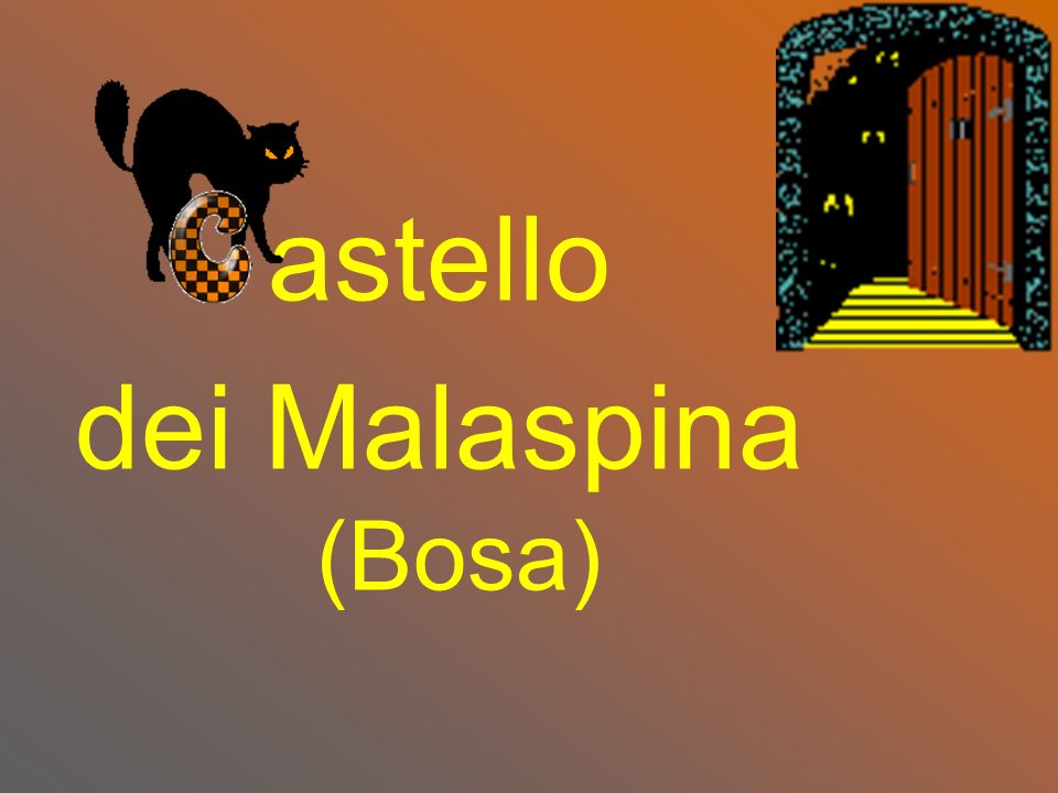 astello dei Malaspina (Bosa)
