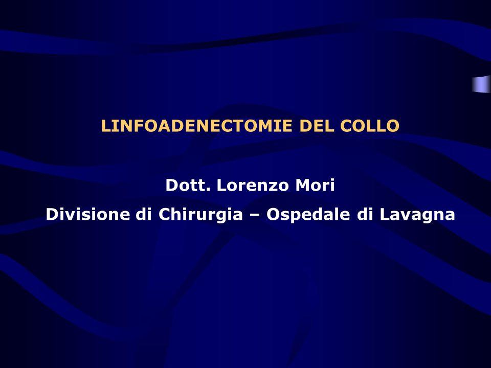 LINFOADENECTOMIE DEL COLLO