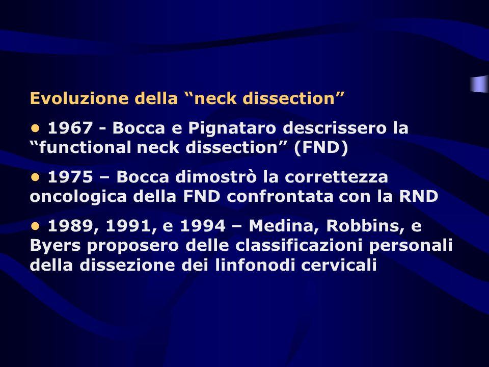 Evoluzione della neck dissection