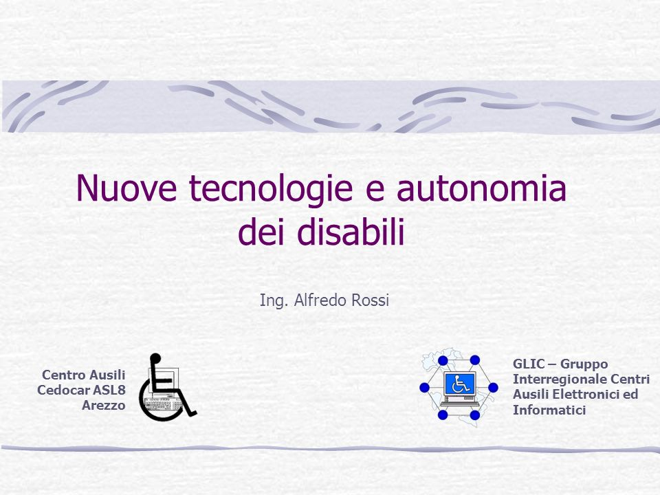 Nuove tecnologie e autonomia dei disabili