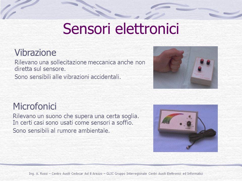 Sensori elettronici Vibrazione Microfonici