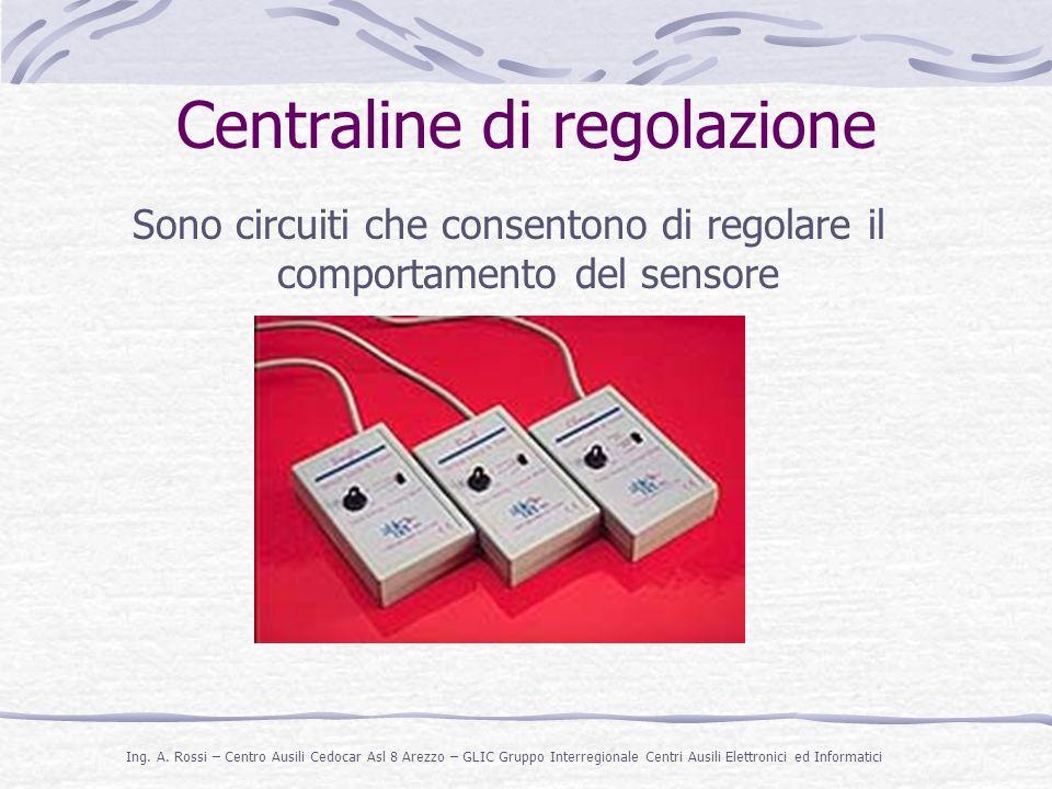 Centraline di regolazione