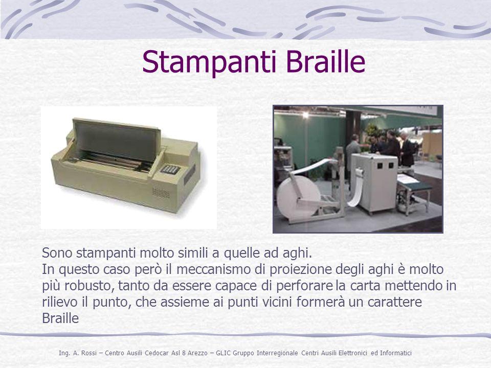 Stampanti Braille