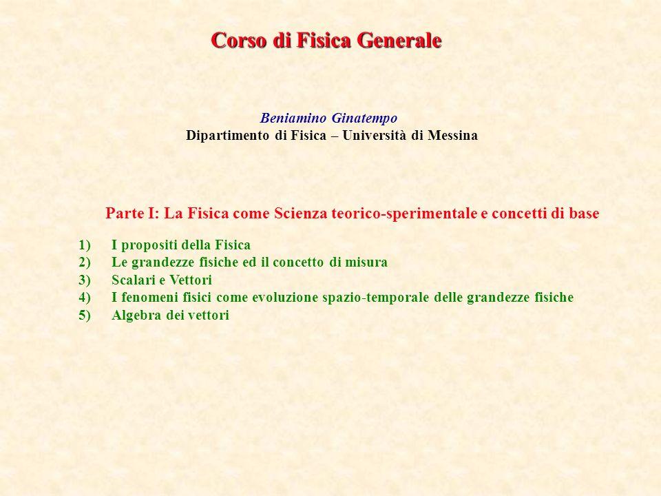 Dipartimento di Fisica – Università di Messina